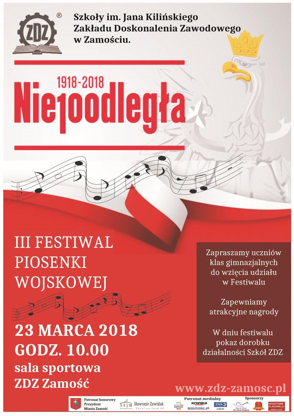 III Festiwal Piosenki Wojskowej