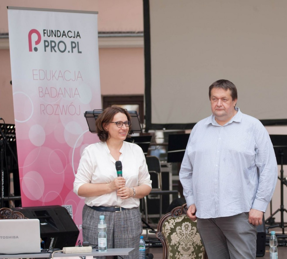 Izabela Winiarska-Górska i Jarosław Górski