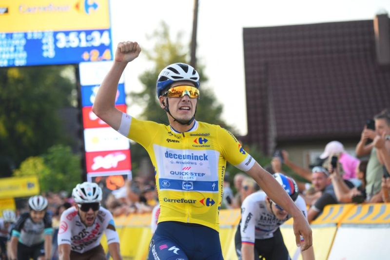 Joao Almeida najlepszy na czwartym etapie 78. Tour de Pologne