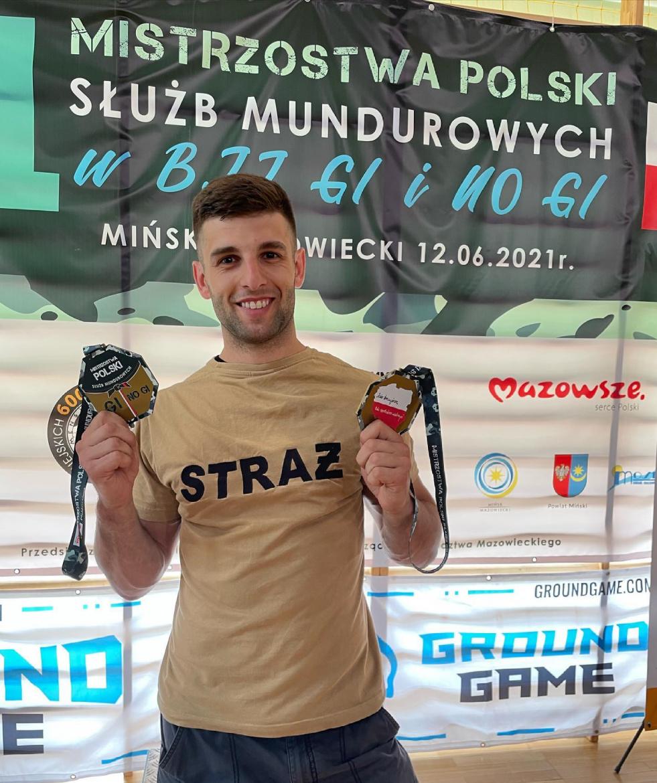 Karol Swatko zdobył podwójne mistrzostwo Polski w JIU-JITSU