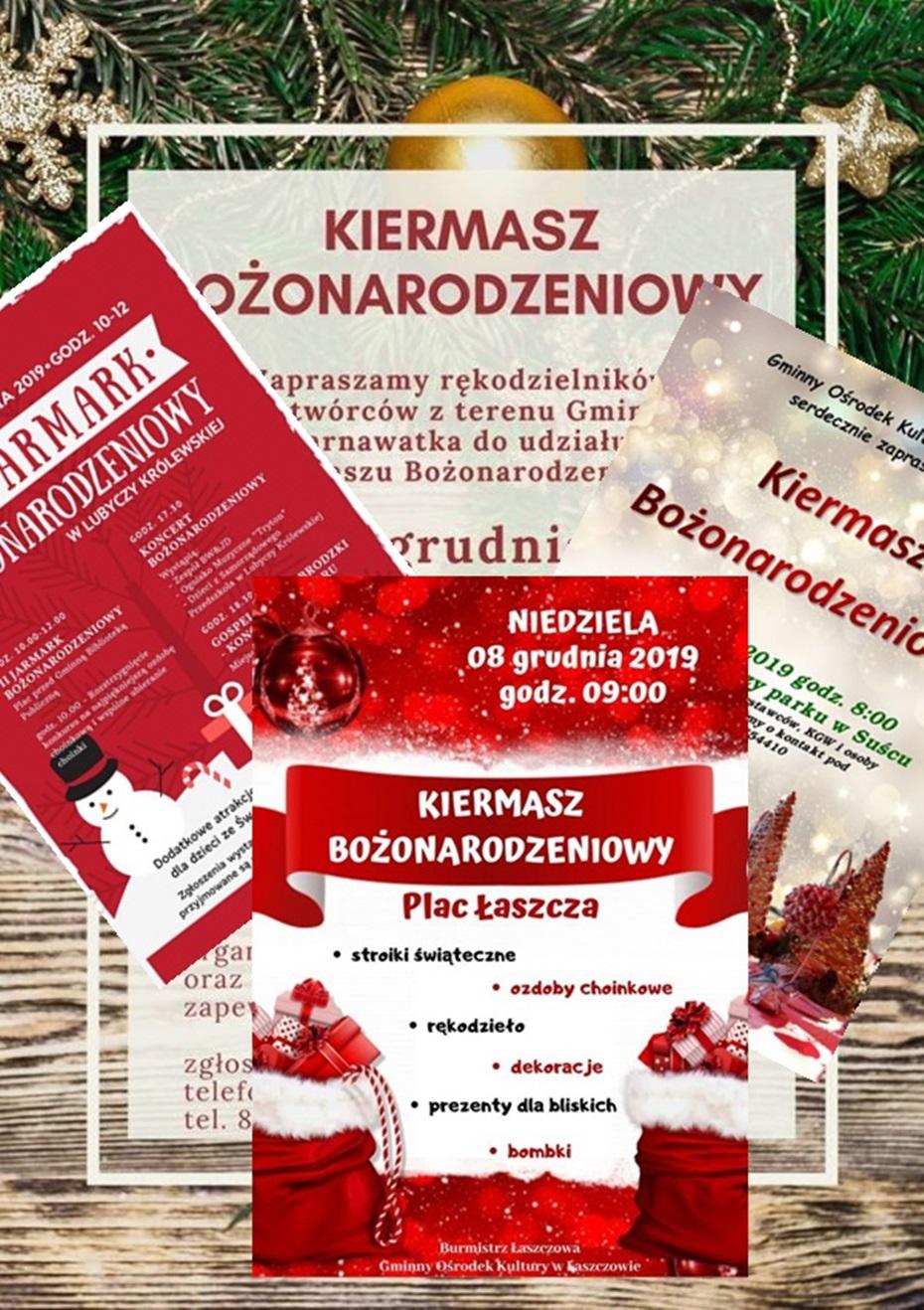 Kiermasze i Mikołaj w powiecie tomaszowskim