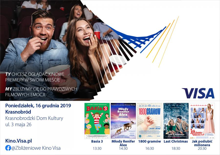 Kino Visa w Krasnobrodzie