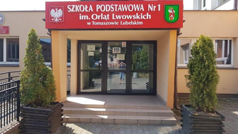 Klasa sportowa w SP 1 w Tomaszowie Lubelskim