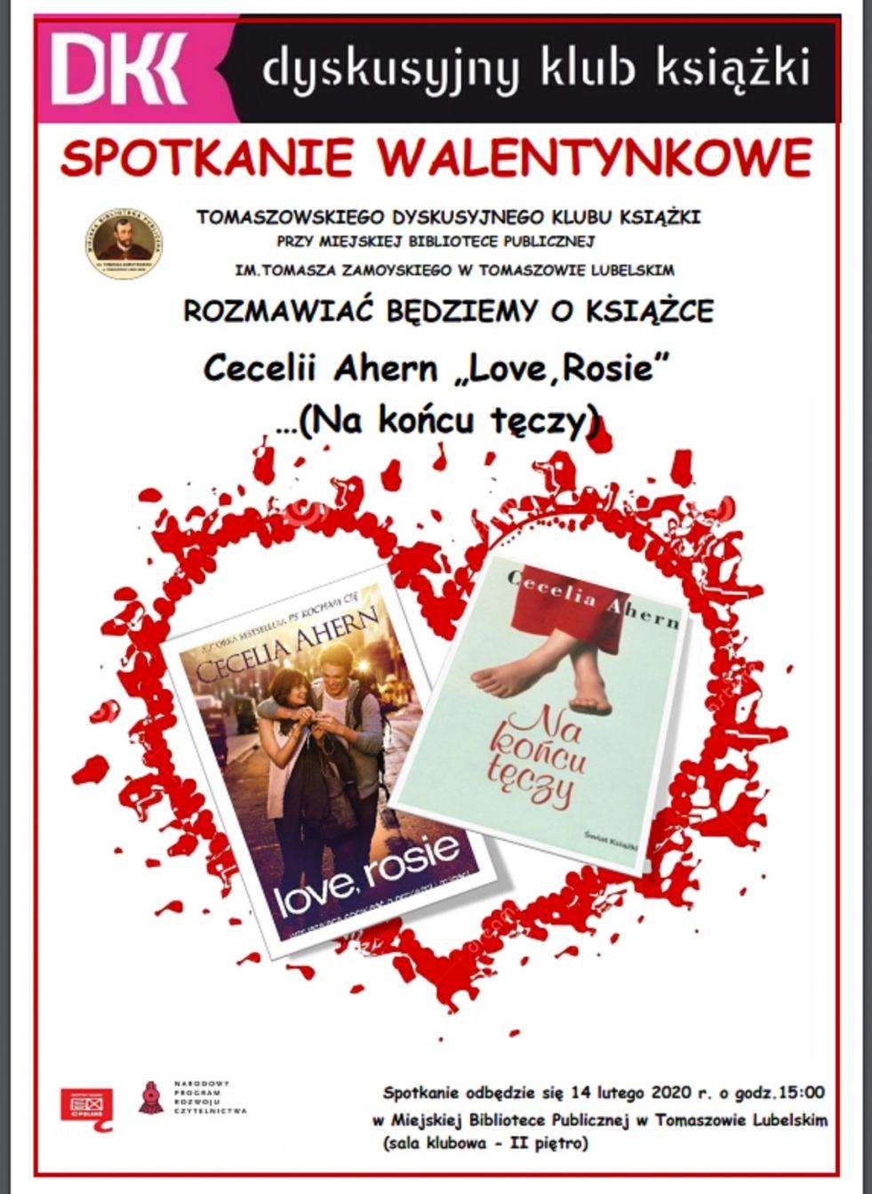 Książka o miłości w MBP w Tomaszowie