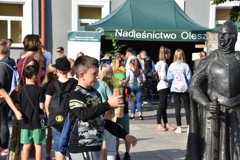 """Lubaczów. """"Drzewko za surowce"""" podczas EKOfestiwalu"""