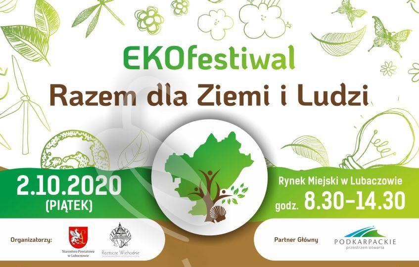 """Lubaczów. """"EKOfestiwal – Razem dla Ziemi i Ludzi"""""""