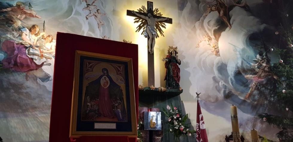 Lubaczów. Peregrynacja ikony Matki Bożej Wspomożycielki Prześladowanych Chrześcijan