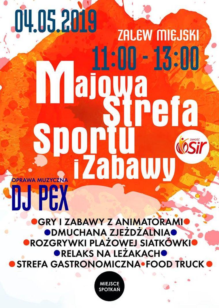 Majowa Strefę Sportu i Zabawy