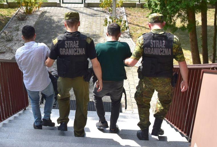 Migranci zatrzymani