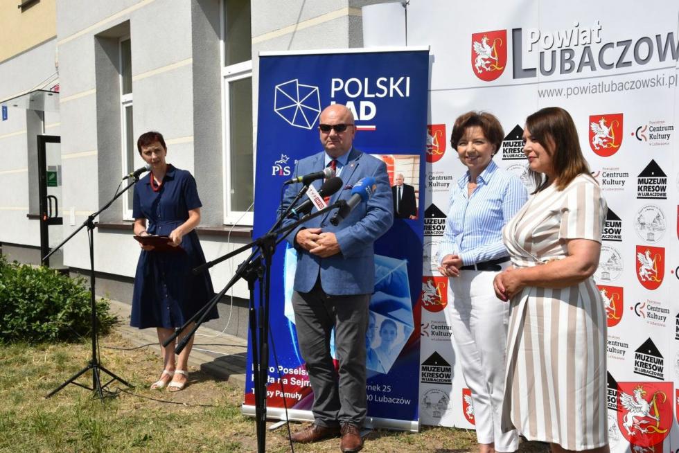 Minister Marlena Maląg w Lubaczowie
