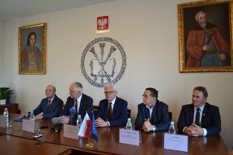 Ministrowie nauki w PWSZ