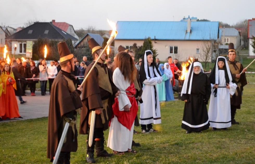Misterium Męki Pańskiej w Łukawcu