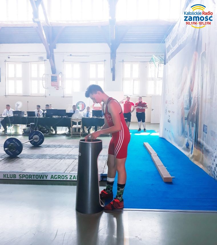 Mistrzostwa Polski w podnoszeniu ciężarów w Biłgoraju