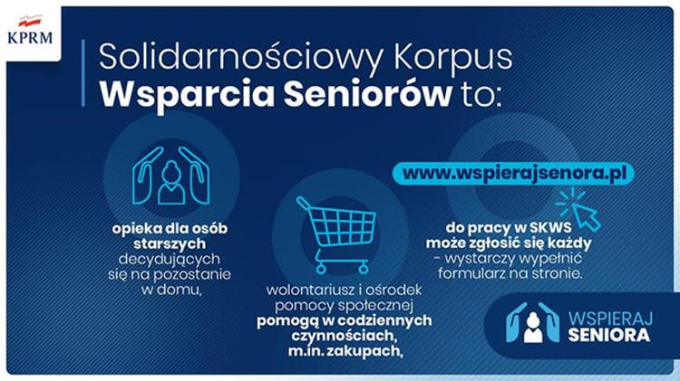 MOPS w Tomaszowie Lubelskim pomaga seniorom