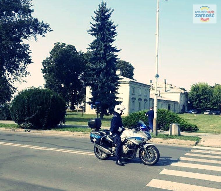 Motocyklisto, rowerzysto zachowaj ostrożność