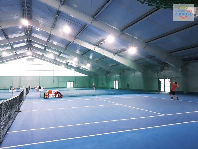 Na zamojskich kortach trwają rozgrywki tenisowe