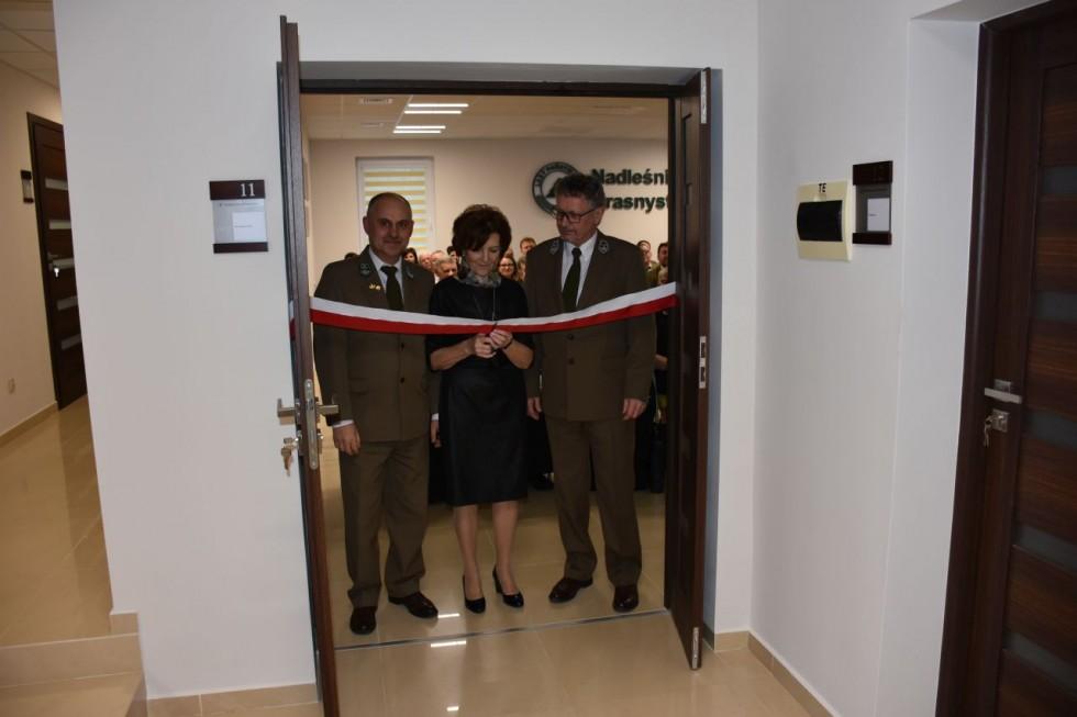Nadleśnictwo Krasnystaw ma nowe biuro