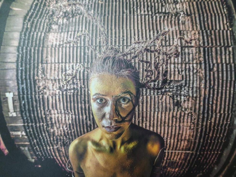 """Narol. Wystawa """"Industrialne Body Art"""""""