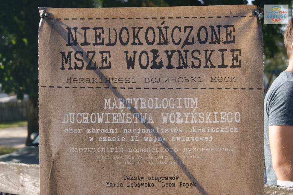 Niedokończone msze wołyńskie w Tyszowcach