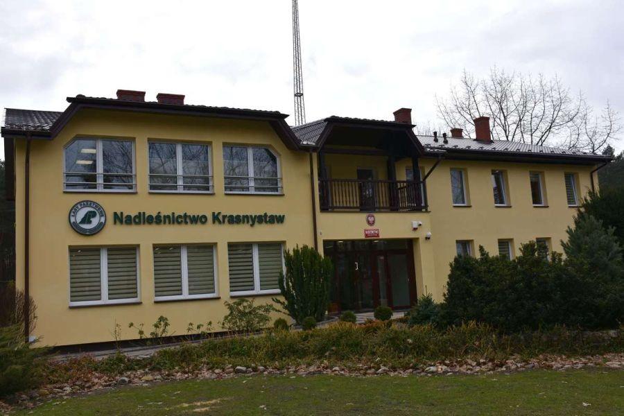 Nowe biuro Nadleśnictwa Krasnystaw