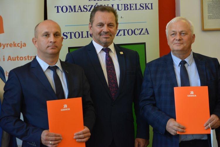 Obwodnica Tomaszowa Lubelskiego będzie miała dwie jezdnie.