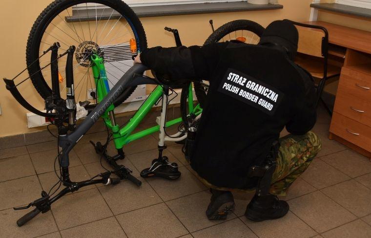 Odnaleziono rowery