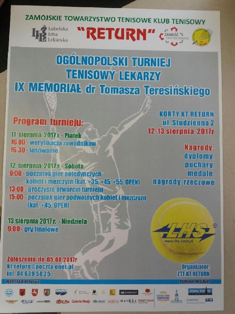 Ogólnopolski Turniej Tenisowy Lekarzy