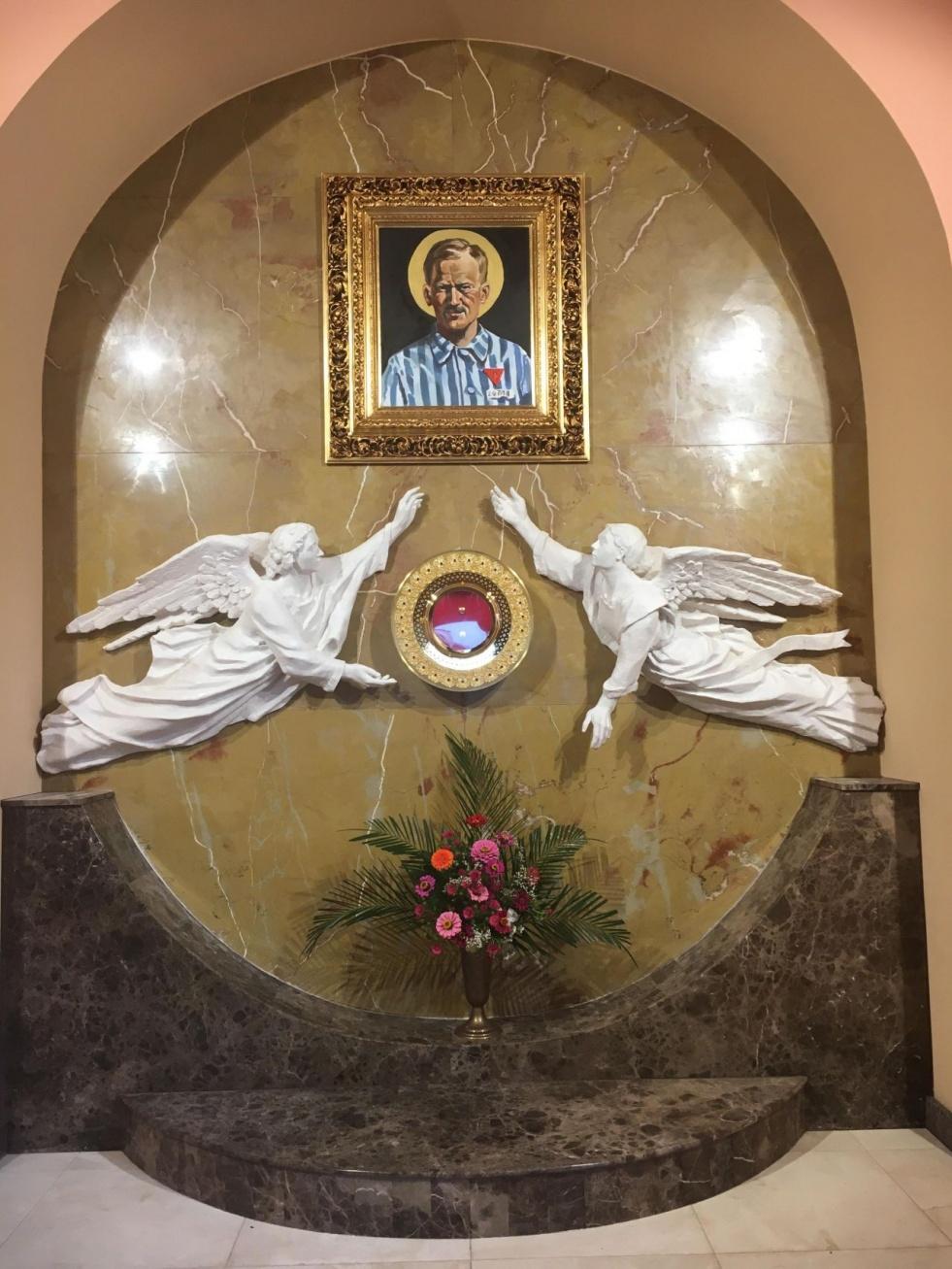Ołtarz bł. Stanisława Starowieyskiego