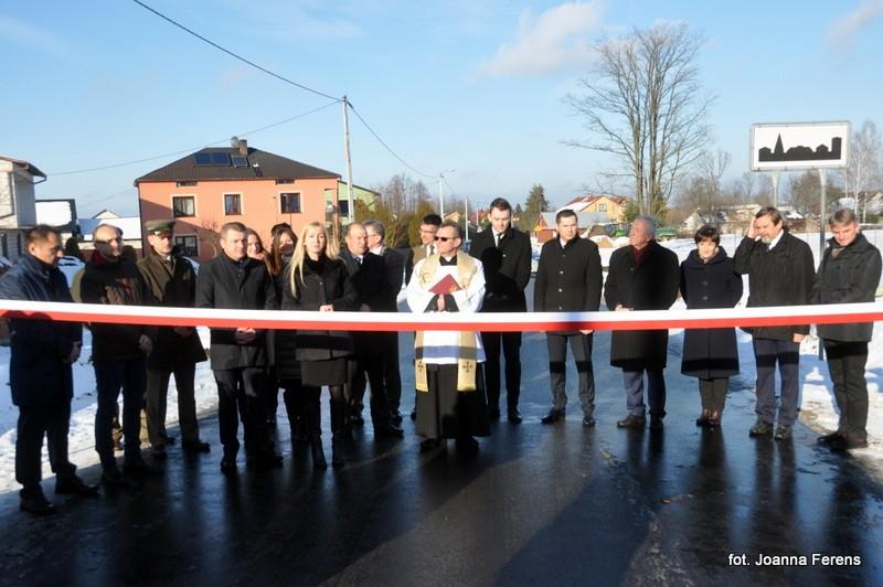Otwarcie nowych dróg w Powiecie Biłgorajskim
