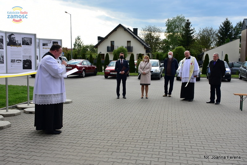 Otwarcie wystawy 'Karol Wojtyła. Narodziny' w Biłgoraju