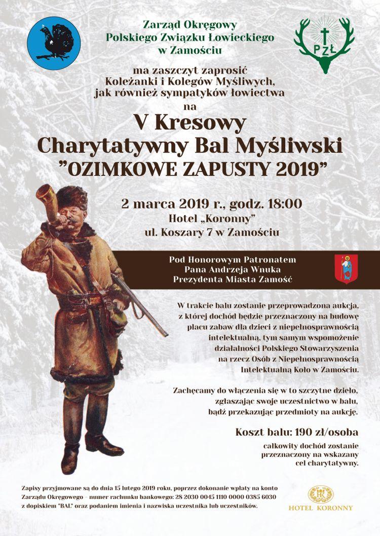 V Kresowy Bal Myśliwski