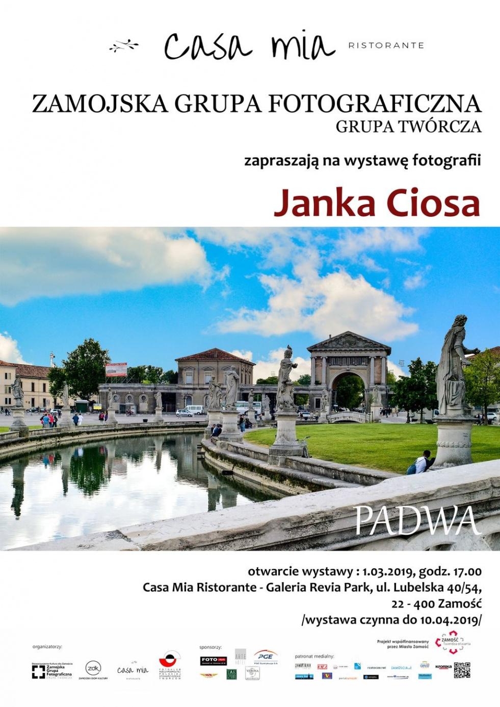 """PADWA"" - wystawa fotografii Janka Ciosa ZGF GT"