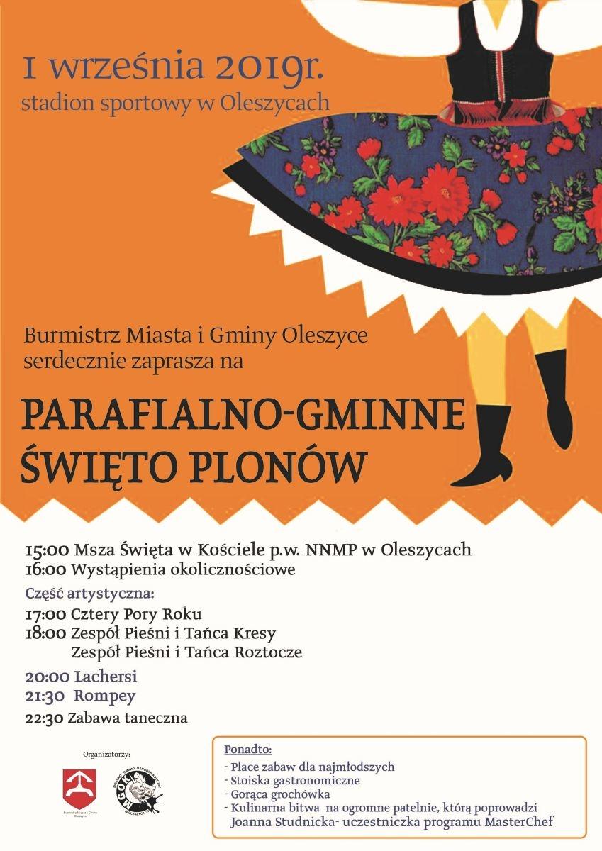 Parafialno-Gminne Dożynki w Oleszycach