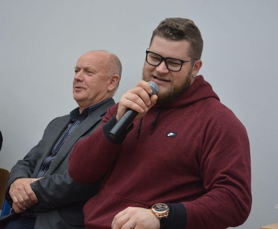 Paweł Fajdek w Zamościu