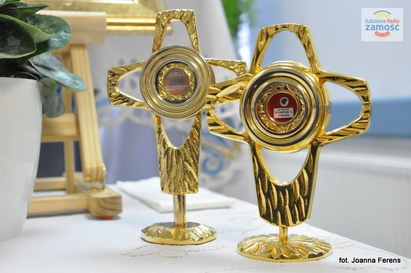 Peregrynacja relikwii w biłgorajskim szpitalu