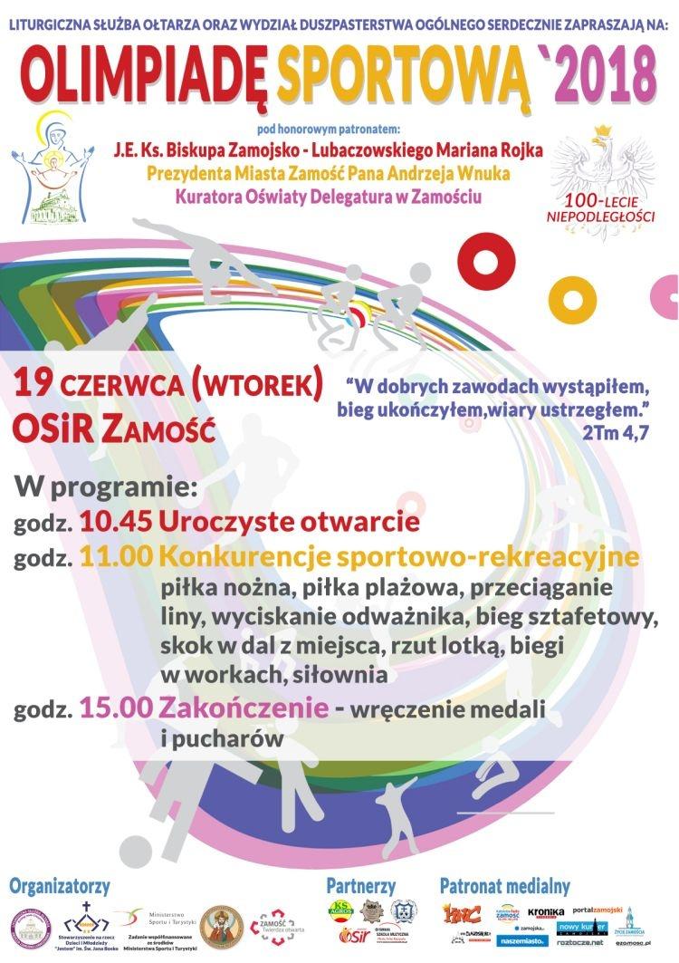 Pielgrzymka i Olimpiada Sportowa LSO