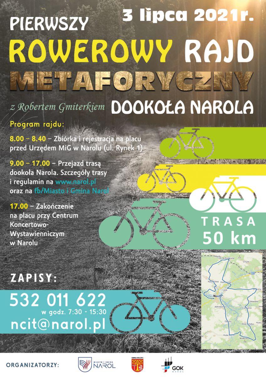 Pierwszy Rowerowy Rajd Metaforyczny Dookoła Narola