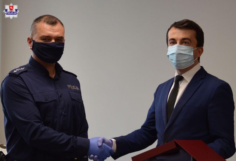 Podziękowania dla biłgorajskiego policjanta