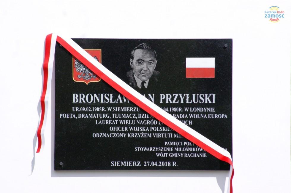 """Poeta Bronisław Jan Przyłuski """"powrócił"""" do Siemierza"""