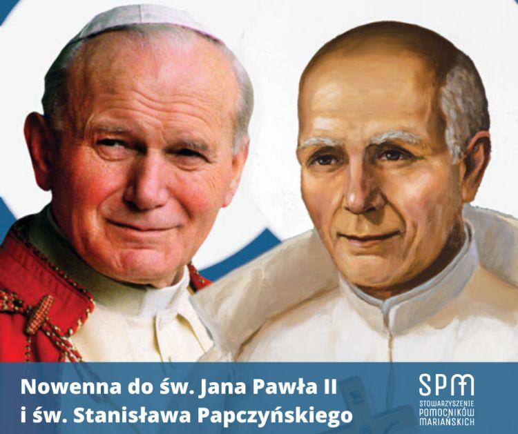 Pomocnicy Mariańscy zapraszają do modlitwy nowenną do św. Jana Pawła II i św. Stanisława Papczyńskiego