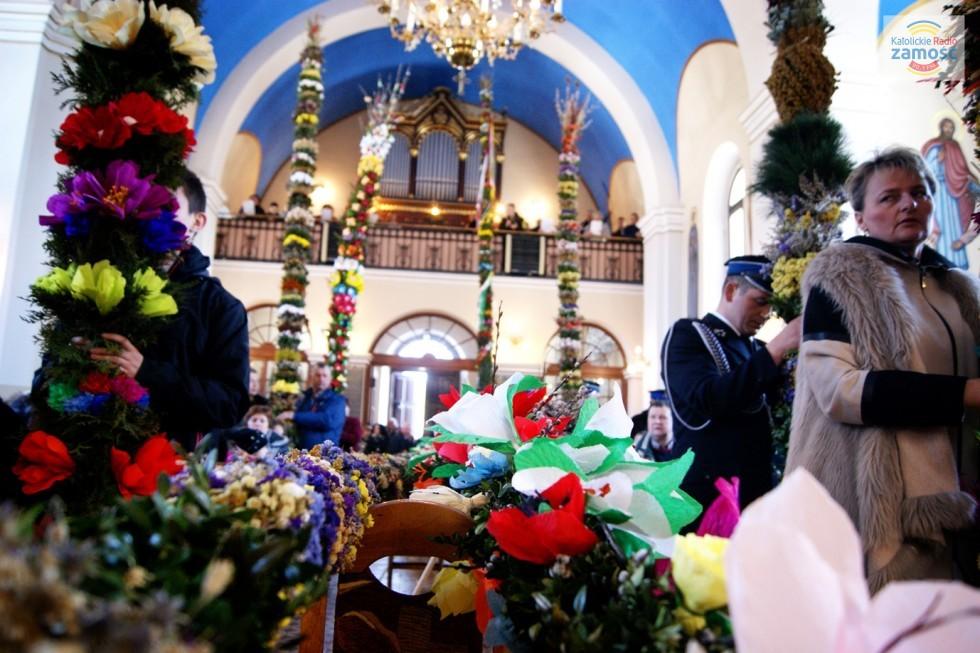 Powiatowy konkurs palm w Bełżcu