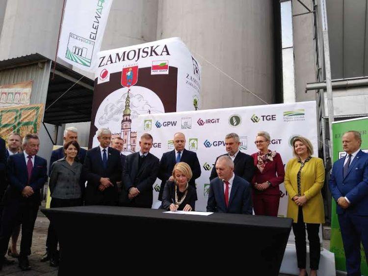 Powstanie Giełdowy Rynek Rolny