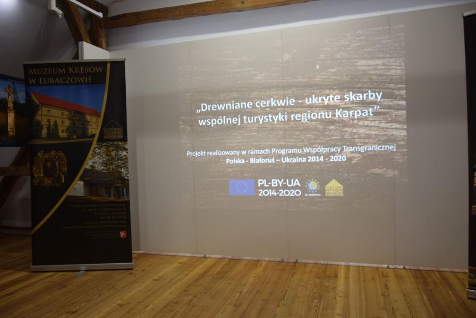 """Radruż. """"Drewniane cerkwie – ukryte skarby wspólnej turystyki regionu Karpat"""""""