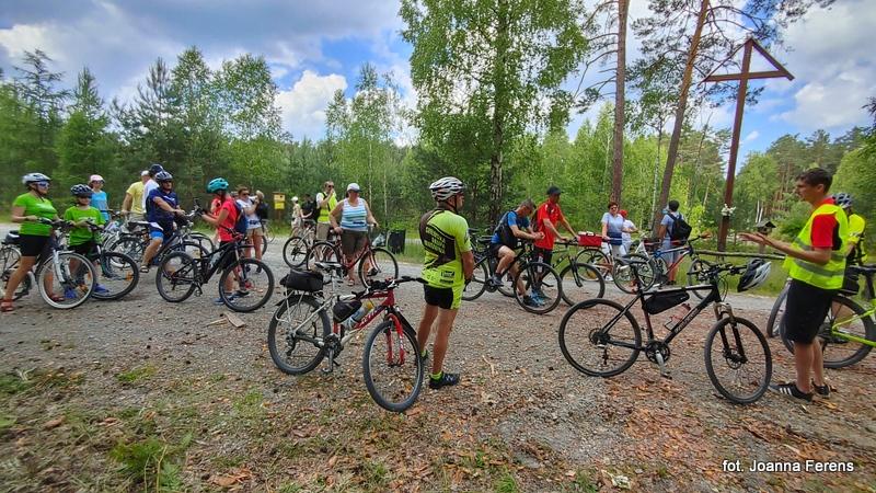 Rajd rowerowy wokół gminy Biłgoraj