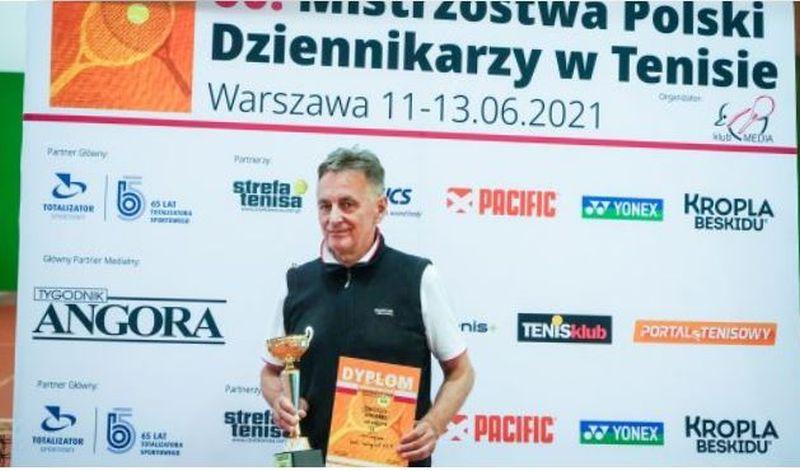 Redaktor Janusz Kawałko zdobył tytuł Wicemistrza Polski Dziennikarzy w…