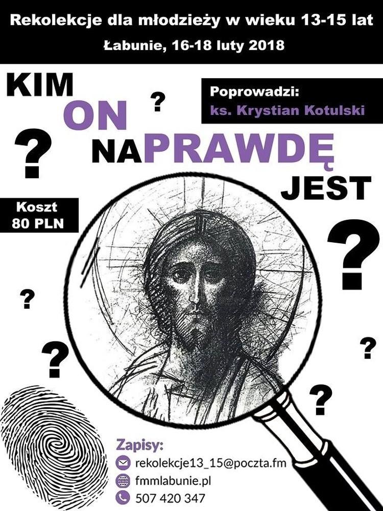 Rekolekcje dla młodzieży w Łabuniach