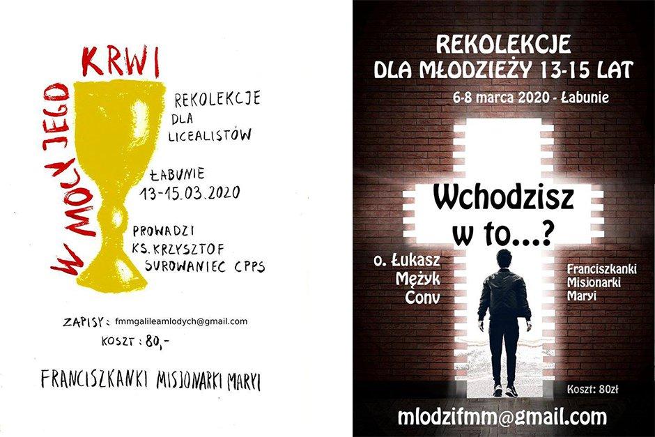 Rekolekcje wielkopostne u sióstr FMM w Łabuniach