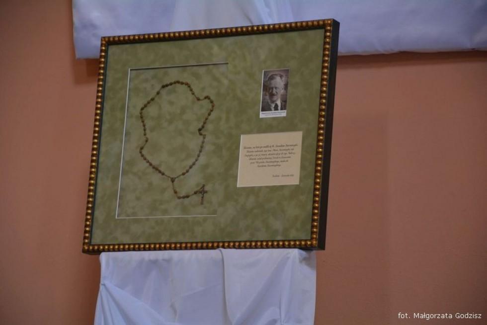 Relikwie bł. Stanisława Starowieyskiego w Łaszczowie