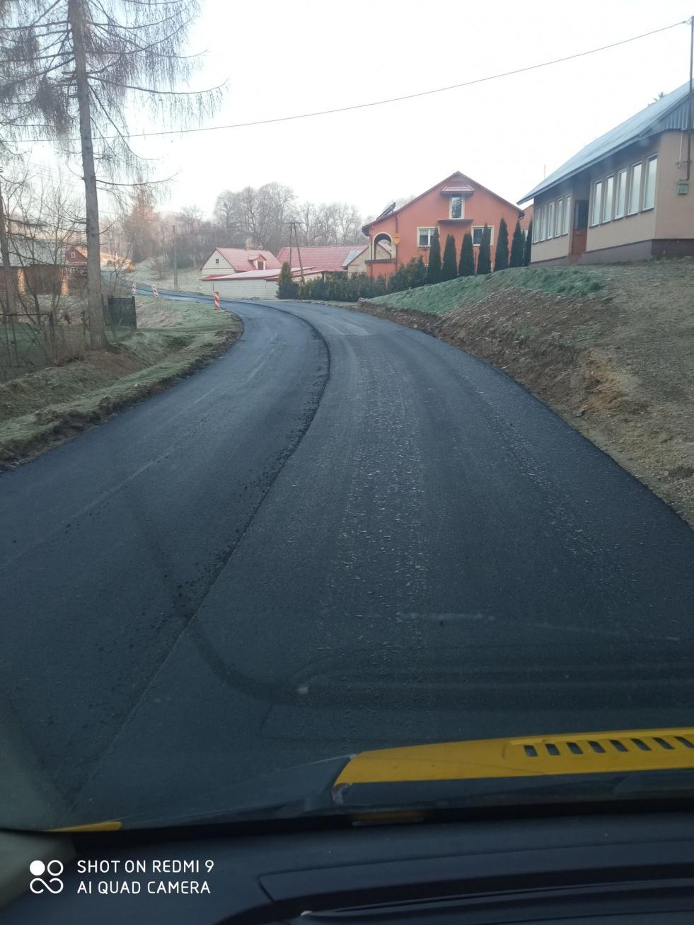 Remonty dróg w powiecie biłgorajskim