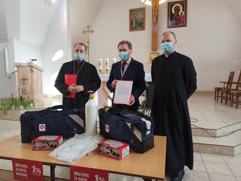 Respiratory dla Szpitala Jana Pawła